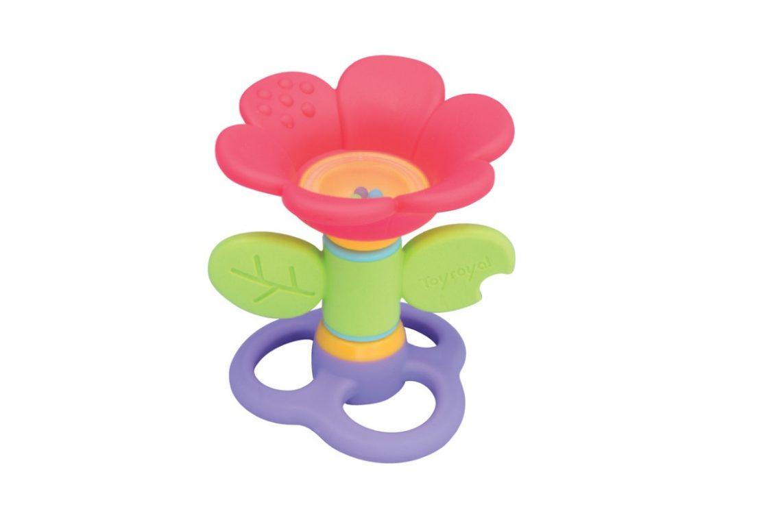 Toyroyal Flower Rattle