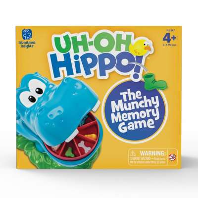 Uh Oh Hippo Memory Game from Educational Insights