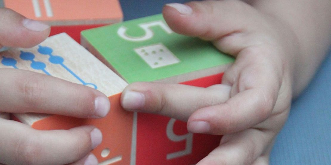 Uncle Goose Discovery Blocks: Braille Math