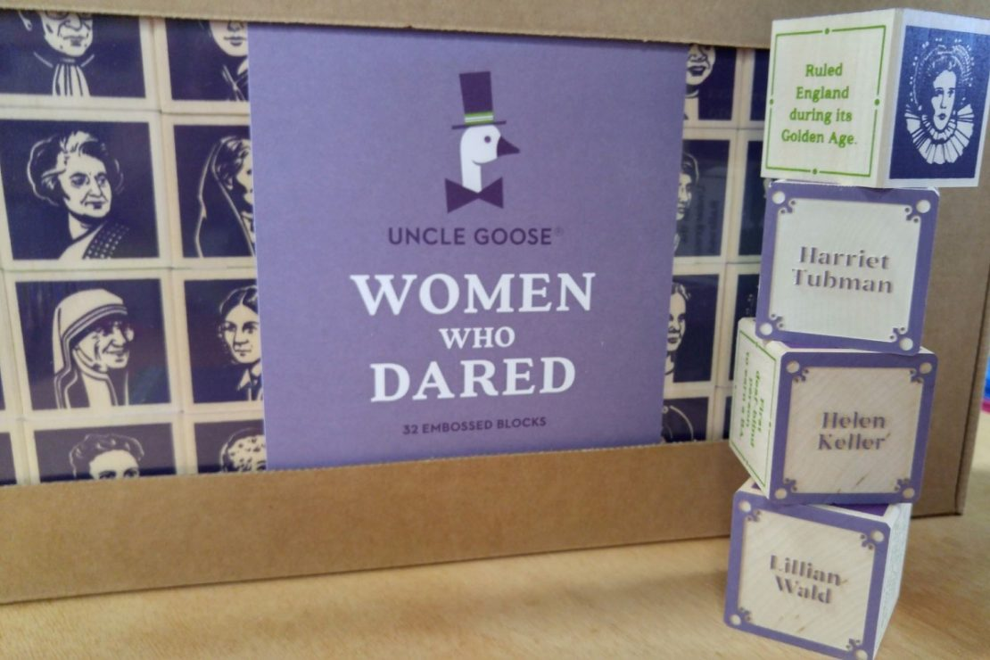 Uncle Goose Women Who Dared Blocks