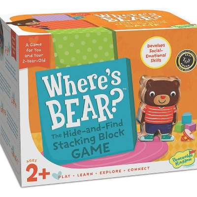 Where's Bear Game from Peaceable Kingdom