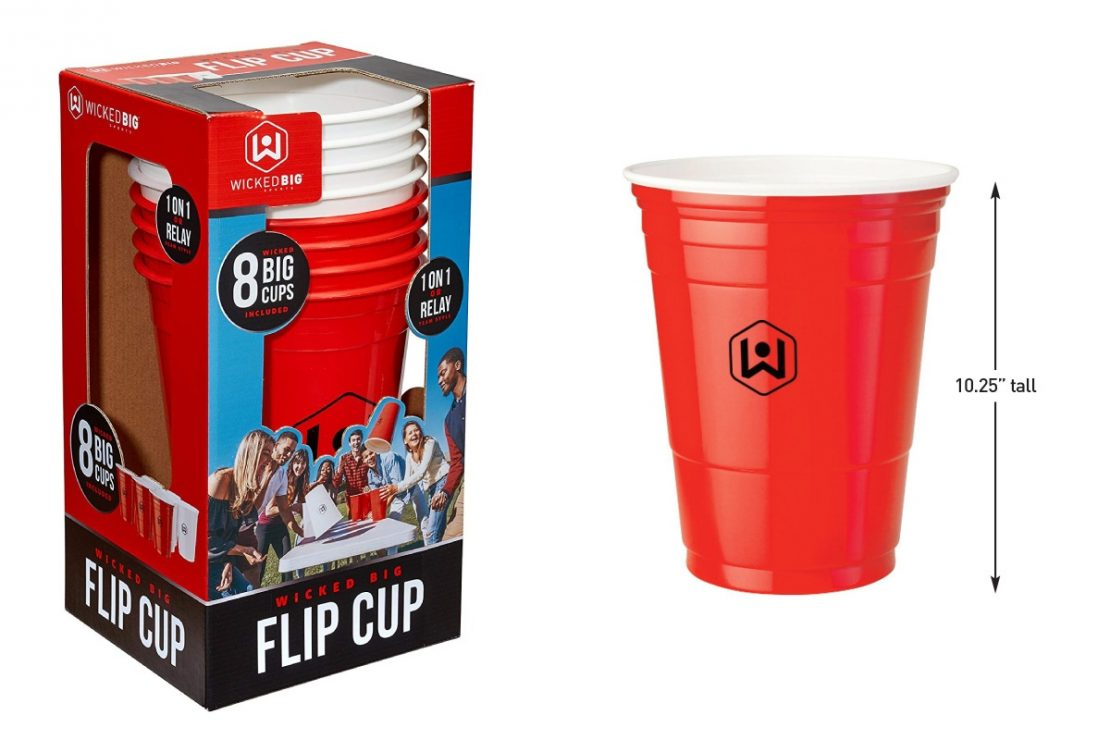 Wicked Big Flip Cup Game