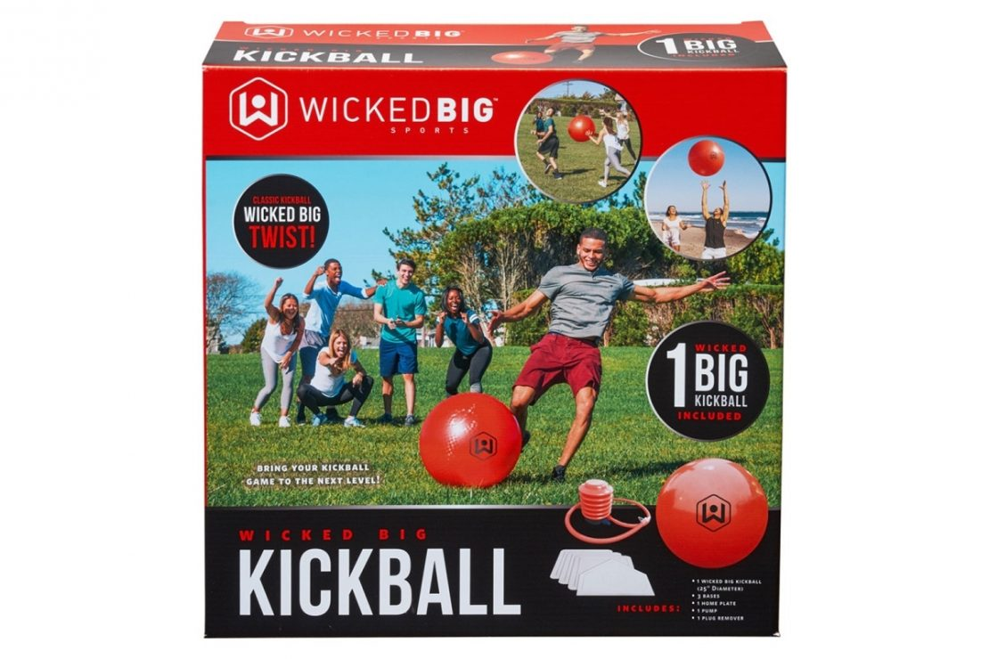 Wicked Big Kickball Game
