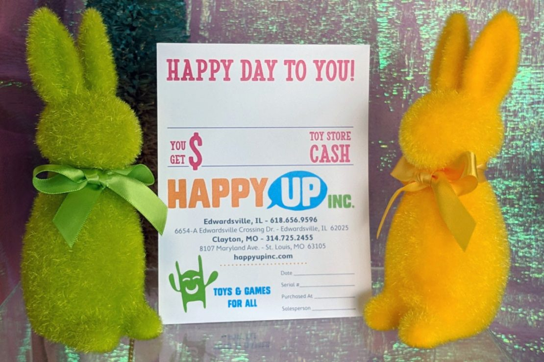 Gift Certificates, Bunny Approved Gifting