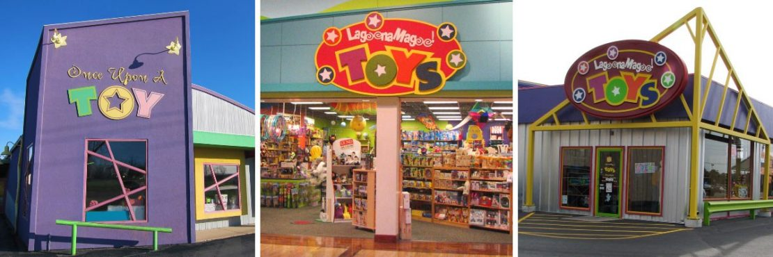 Once Upon a Toy, Lagoona Magoo at St. Louis Mills, Lagoona Magoo in Fairview Heights