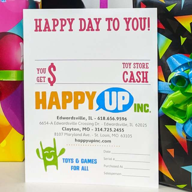 Gift Certificates Always Fit!