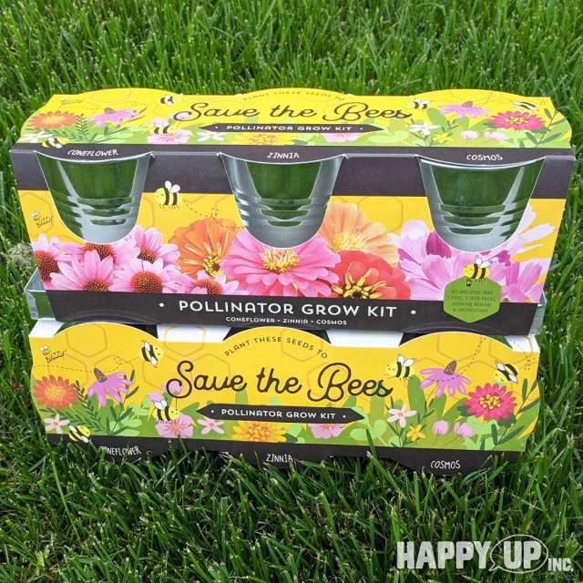 Buzzy Save the Bees Pollinator Grow Kit