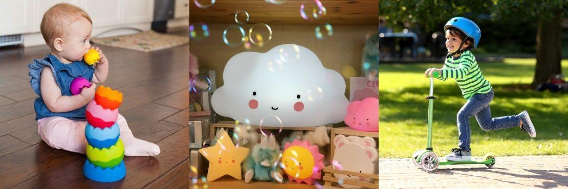 Fat Brain Baby Toy, Little Lovely Cloud, Micro Kickboard Scooter