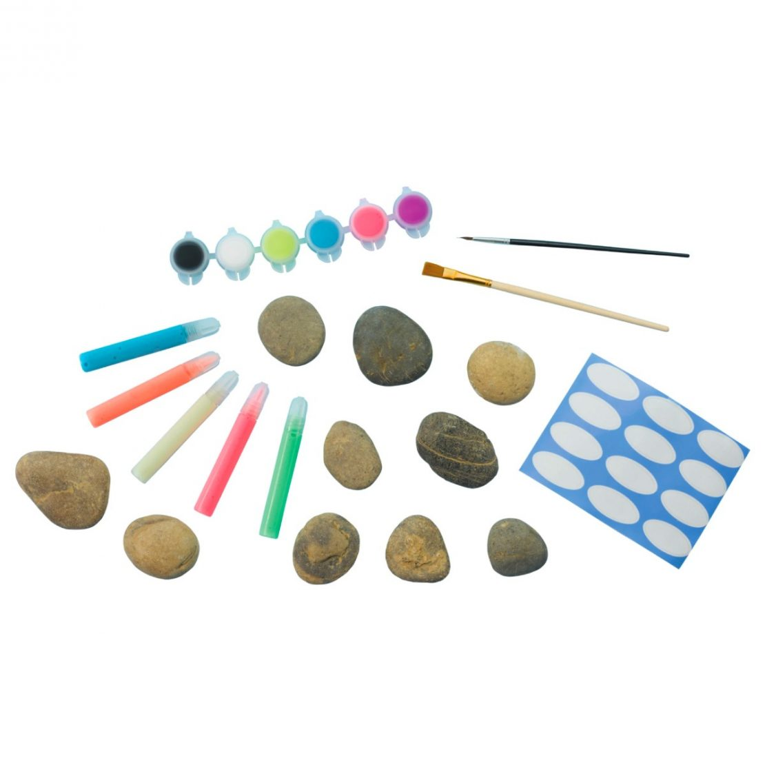 Glow in the Dark Rock Painting Kit from Creativity for Kids